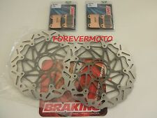BRAKING KIT DISCHI FRENO ANTER WAVE + PAST DUCATI MONSTER MONSTER S4R 996 03 04