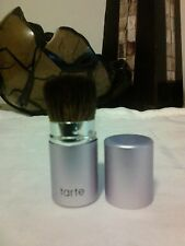 Tarte Mini Kabuki Brush Light Purple Gunmetal Synthetic Fibre NEW & AUTHENTIC