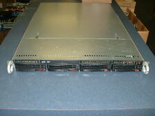 Supermicro 1U Server X8DTU-F 2x Xeon E5620 2.4ghz Quad Core / 24gb / DVD / Rails