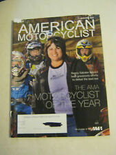 January 2012 American Motorcyclist Magazine, Motorcyclist of the Year (BD-14)