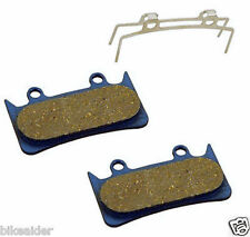 PAIR HOPE MONO CALLIPERS 6 POT Organic Bike Disc Brake Pads & SPRING Marwi DBP28