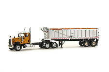 "Caterpillar CT680 Truck w/ East Dump Trailer - ""YELLOW"" - 1/50 - WSI #39-1007"