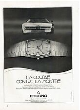 Publicité Advertising 1984 La Montre Eterna Royal Quartz