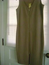 Nicki Minaj Womens XL Dress NWT Nude Zip Front
