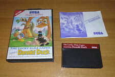 Jeu SEGA Master system - The lucky dime caper starring Donald duck