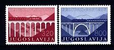 YUGOSLAVIA - JUGOSLAVIA - 1976 - Inaugurazione della linea ferroviaria Belgrado