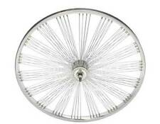 "LOW RIDER LOWRIDER BIKE bicycle 26"" Fan 144 Spoke Front Wheel 14G Chrome"