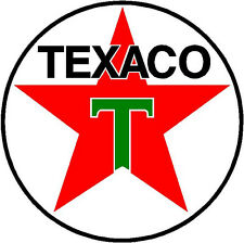 TEXACO STAR GASOLINE VINYL STICKER (A061) 12 INCH