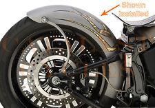 """Lucky Sucker Fender & Struts for Harley Softail Fender Kit 9"""" wide for 200mm"""