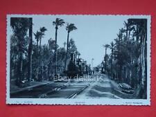 ELCHE estacion train treno stazione vecchia cartolina old postcard Espana Spagna