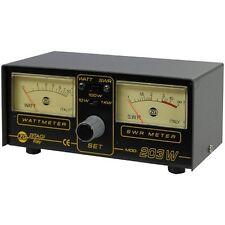 Zetagi SWR 203, PWR/SWR,2 Anzeigen, 3-200 MHz. Neu+OVP