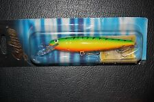 """Salmo Whitefish SW13DR-GT Green Tiger  Deep Runner 5 1/4"""" 3/4 oz Lure"""
