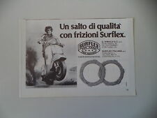 advertising Pubblicità 1983 SURFLEX e VESPA