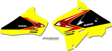 SUZUKI RM 85 2002 - 2016 MOTOCROSS GRAPHICS MX GRAPHICS MX DECALS OEM SHROUD