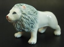 Ceramic LION King of the Jungle Male Big Cat Ornament Curio Display Animal Gift