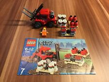 Lego City treno, gru scalo merci, muletto  7898 (no 7936 7938 60052)