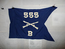 flag577 WW 2 US Army Airborne Guide on 555th Parachute Infantry Regiment B Co