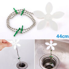 New Home Bathroom Shower Drain Chain Cleaner Hair Clog Remover Cleaning Tools