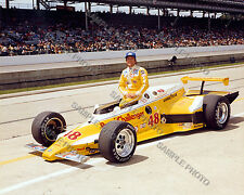 MIKE MOSLEY 1981 INDY 500 AUTO RACING 8X10 PHOTO