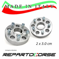KIT 2 DISTANZIALI 30MM REPARTOCORSE - SMART FORTWO BRABUS 450 451 -MADE IN ITALY