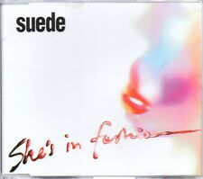 SUEDE - SHE'S IN FASHION - 3 TRACK CD SINGLE 1
