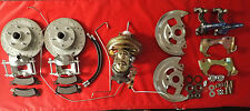 "1964 1967 GM A body chevelle disc brake conversion STOCK RIDE HEIGHT 9"" BOOSTER"