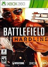 Battlefield Hardline (2-DISC Xbox 360, 2015) INCLUDES INSERTS - EXCELLENT COND