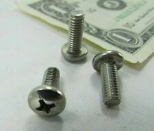 """50 Stainless Phillips Pan Head Machine Screws #10-32 x 1/2"""" SS Gould Canada New"""