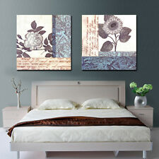 HD Canvas Print home decor wall art painting Picture-Flower 2PC No Frame
