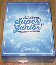 All About SUPER JUNIOR TREASURE WITHIN US DVD + 10 POSTCARD & FOLDED POSTER NEW