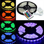 Boat Accent Light Waterproof LED Lighting Strip 16 ft /5M RGB + 24KEY IR Remote