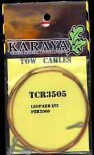 Karaya Models 1/35 METAL TOW CABLES German Leopard I/II Tanks
