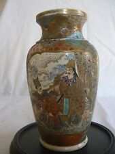 JA 149 Very Fine Small Japanese Satsuma Vase, Meiji Period, Hand Painted