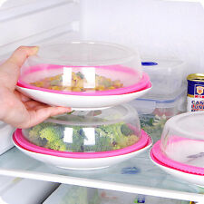NEW Plate Topper Universal Leftover Lid Microwave Cover Airtight Plate Topper