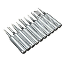 10Pcs Solder Soldering Iron Tip Tool Set for Atten Quick Lukey Aoyue 968