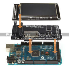 "SainSmart Mega2560 + 2.8"" LCD Screen Display + TFT LCD Shield Kit For Arduino"