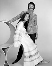 Sonny Bono & Cher 8 x 10 GLOSSY Photo Picture IMAGE #2