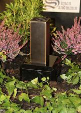 Grabvase aus Bronze | Grabschmuck | Grablape | Grablicht | Grab | Vase - NEU -