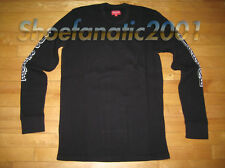 Supreme Waffle Thermal L/S Shirt Black L Box Logo Blazer SB Dipset Dust Bag