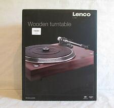 Lenco tocadiscos l-90 carcasa de madera con USB y preamplificadores