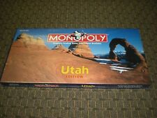 Utah Monopoly Official Parker Brothers Collectible. New