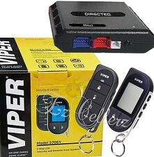 VIPER 5706V + DBALL2 Alarm 2-Way Car Pager Security System Keyless Remote Start