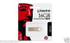 """16gb DTSE9/16GB USB STICK KINGSTON in Silber - Metall  NEU OVP """"Fortuna Trade""""GB"""