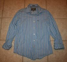 Abercrombie & Fitch Mens XXL Muscle Fit LS Button Front Shirt