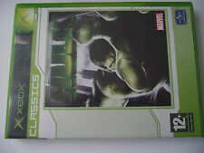ORIGINAL XBOX GAME /  HULK / MARVEL