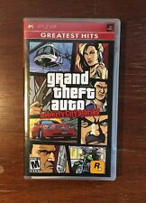 Grand Theft Auto Liberty City Stories PSP COMPLETE Greatest Hits Sony PSP
