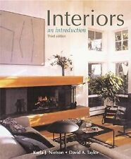 Interiors: text with Design CD-ROM Nielson, Karla J., Taylor, David A