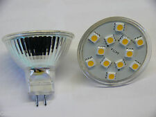 MR16 LED Warm White Bulb 12 Volt Boat Marine Caravan Motorhome Narrowboat 19-10
