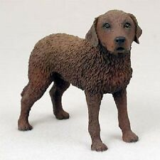 Chessie Dog Hand Painted Figurine Resin Statue puppy Chesapeake Bay Retriever