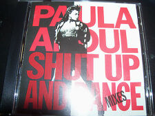 Paula Abdul Shut Up And Dance The Mixes / Remixes (Australia) CD- Like New